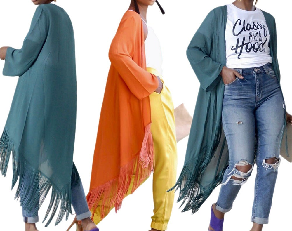 "Image of ""Flavor"" Fall Duster"