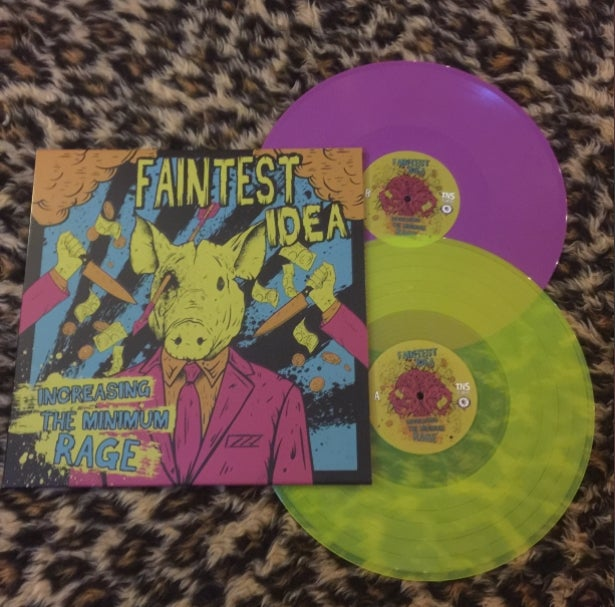 Image of Increasing the Minimum Rage Vinyl