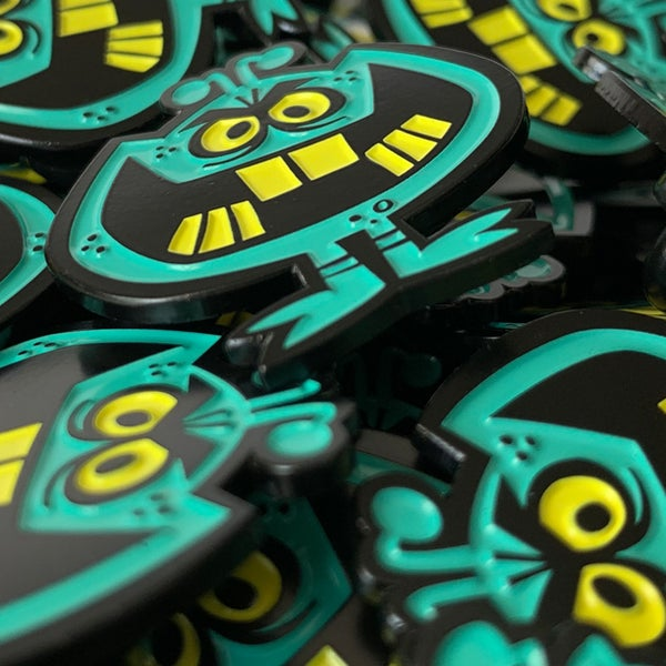 Image of SICKO / LAMEBRAINS Soft Enamel Pin