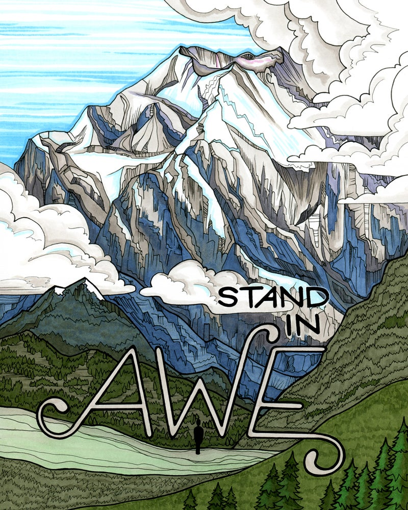 "Image of ""Awe"" art print"