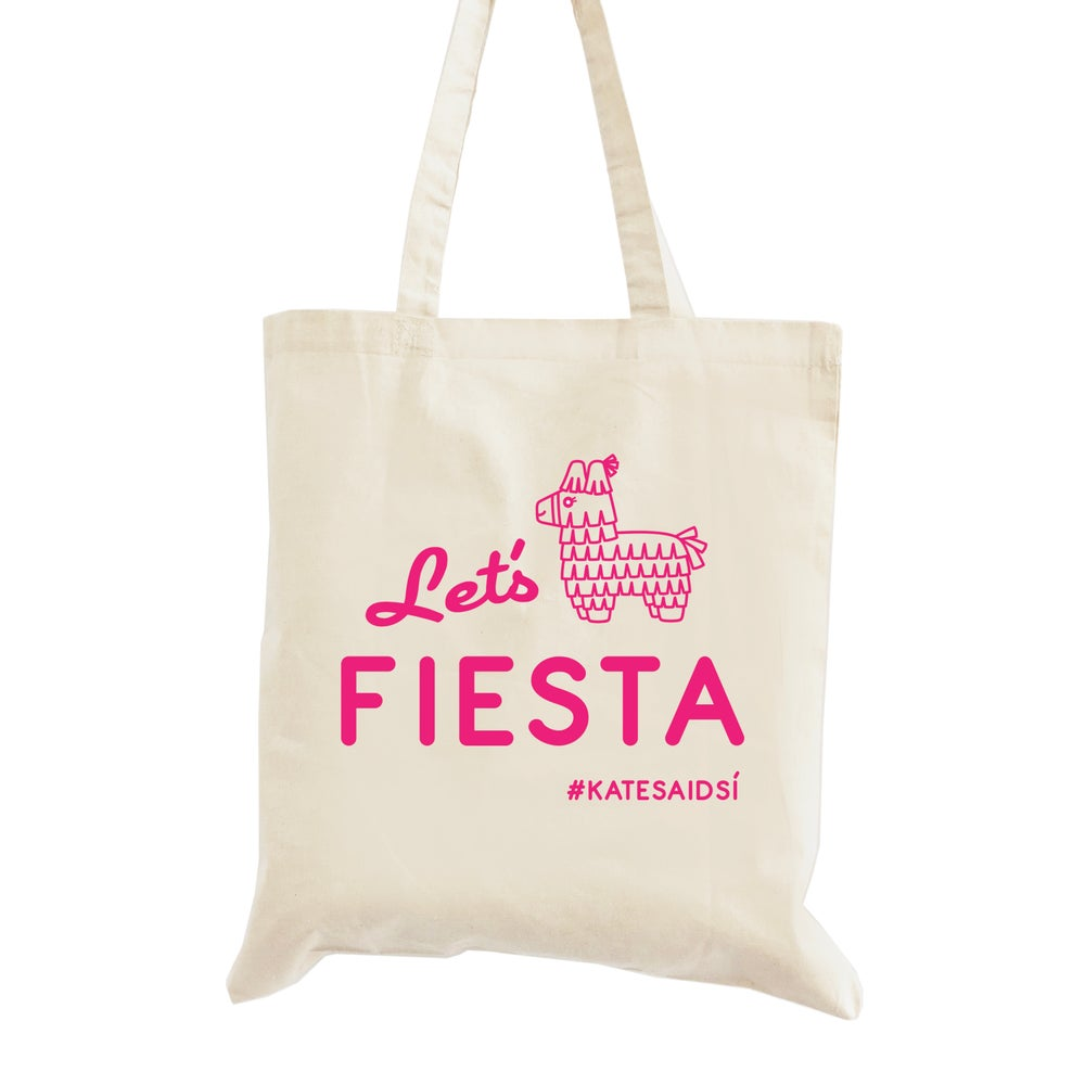 Image of Customizable Let's Fiesta Bachelorette Tote Bag