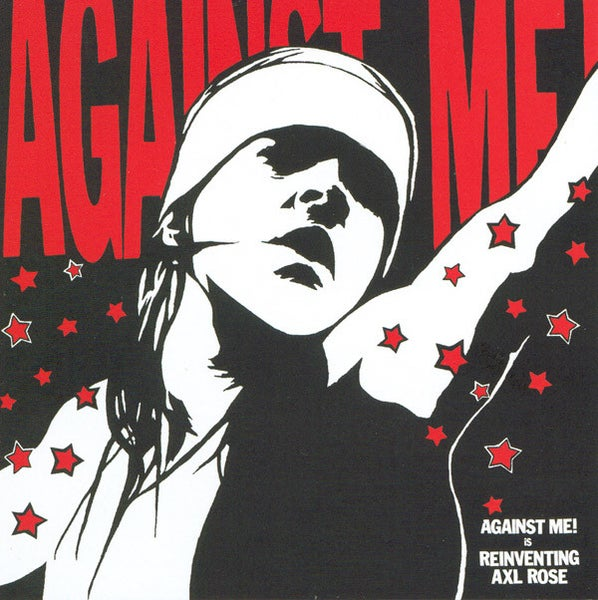 Image of NEW REISSUE Against Me! - Reinventing Axl Rose LP