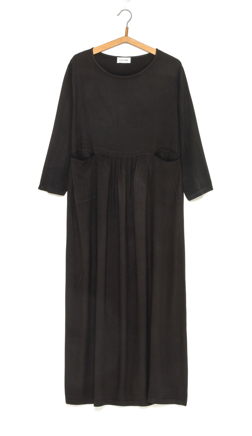 Image of Robe longue Twill viscose LUCIA 149€ -60%