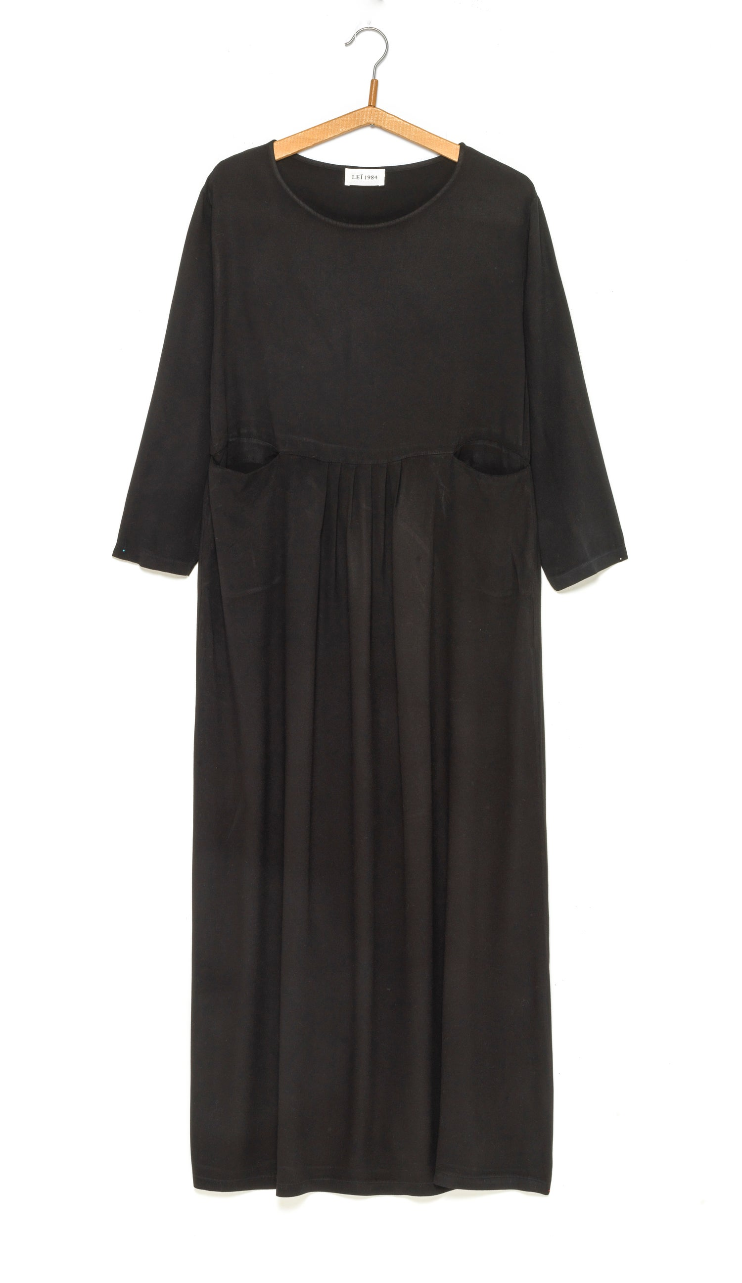 Image of Robe longue Twill viscose LUCIA 149€ -50%