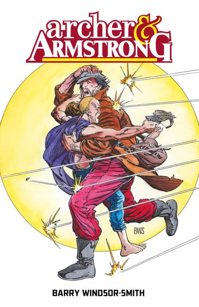 Image of Archer and Armstrong par Barry Windsor-Smith