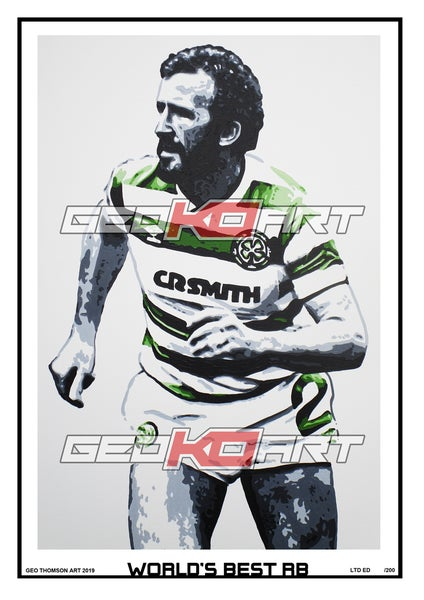 Image of DANNY McGRAIN CELTIC