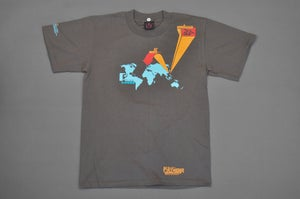Image of TDR™ vs Shop33 Limited Edition Location 1998 Shirt Brown