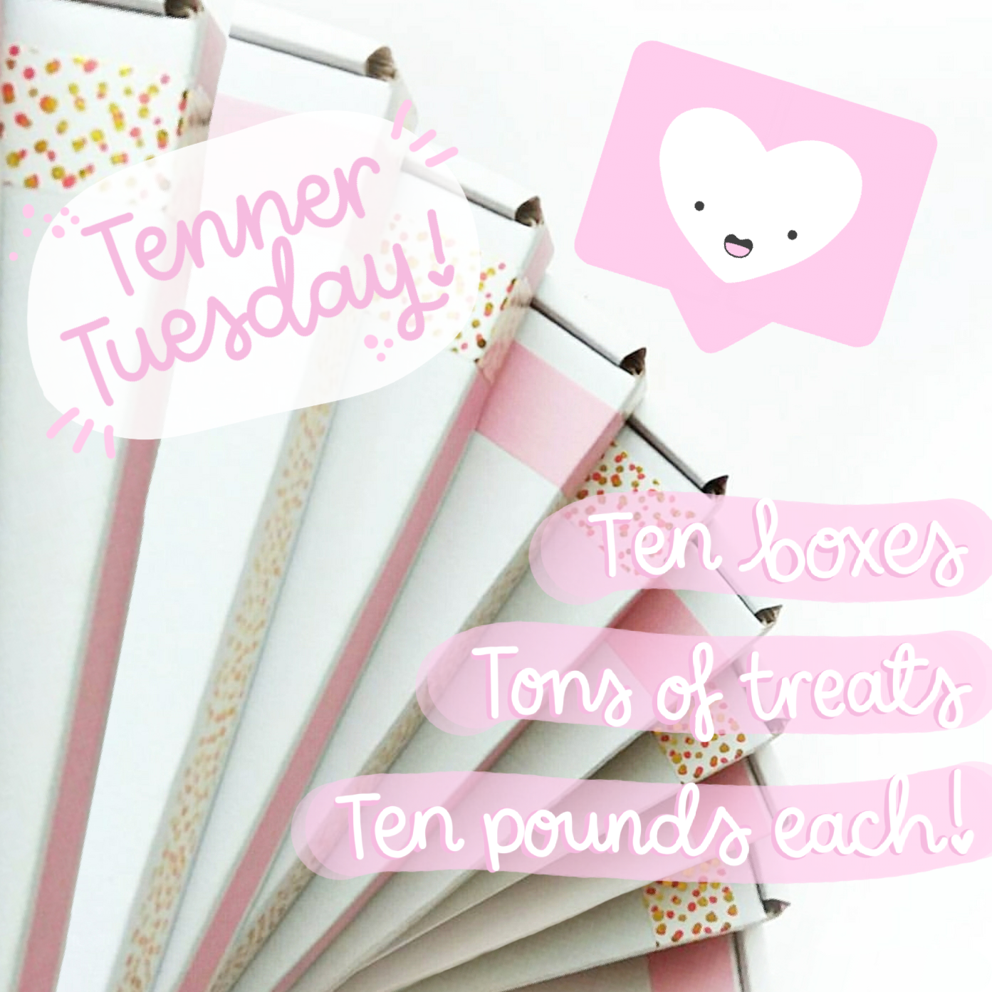 Image of Tenner Tuesday - Boxes of Bargain Treats!