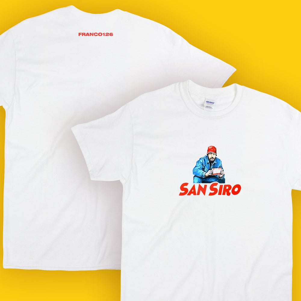 Image of Franco126: San Siro T-Shirt (white)