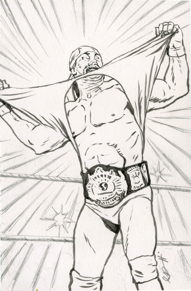 Image of WWF sketches round 1