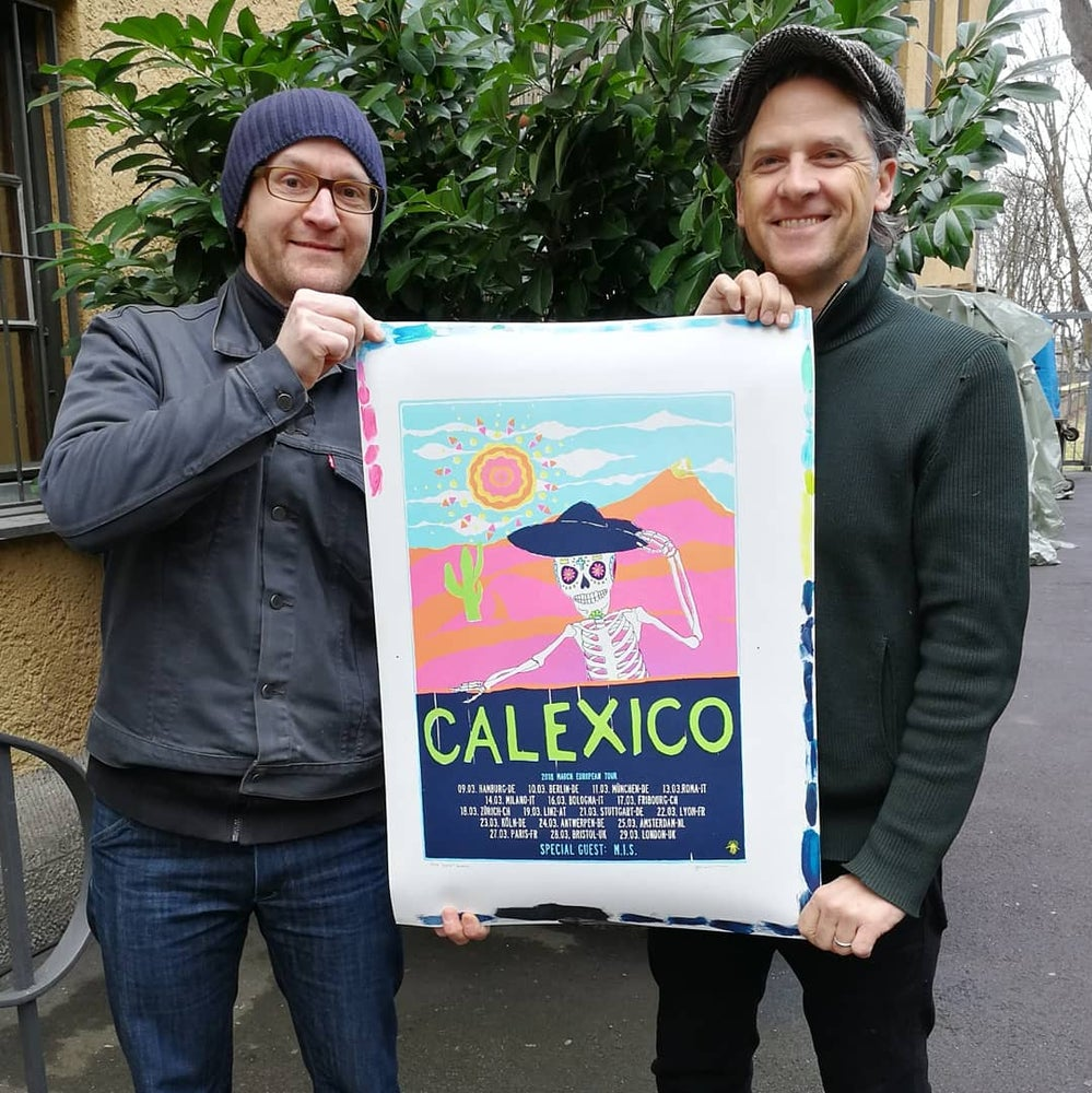 Image of CALEXICO / Europe 2018 (display!)