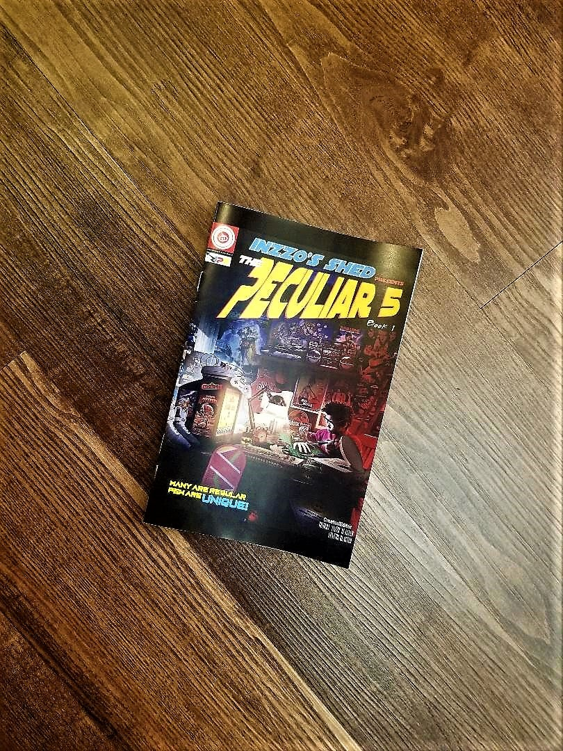 Image of The Peculiar 5 Comicbook (Book 1)