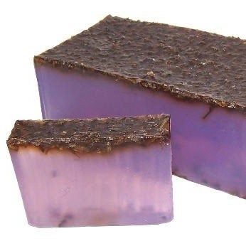Image of Soap English Lavender with Lavender Seeds (Palm Oil Free)