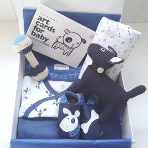 Image of Dog & Bone Baby Boy Box