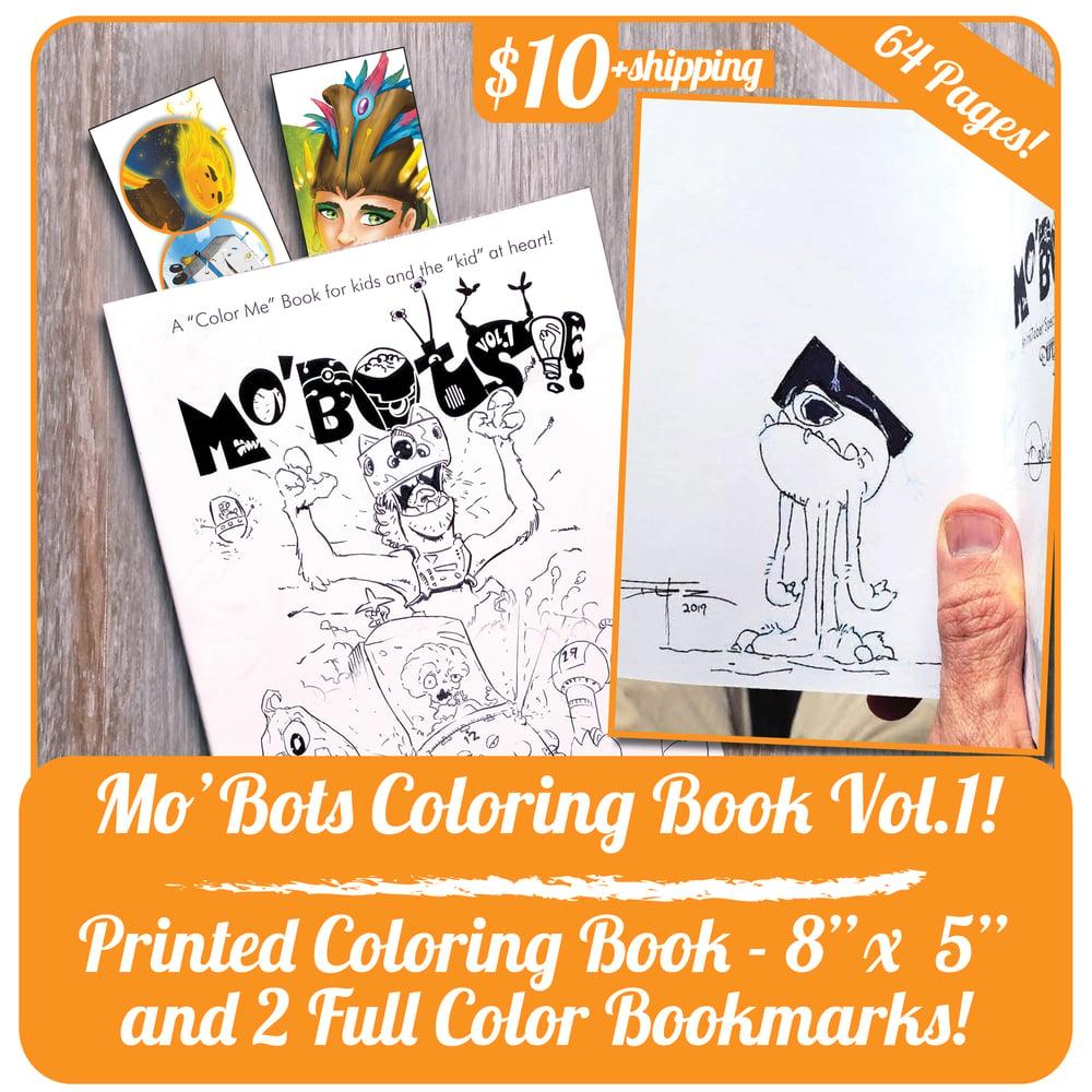 Image of Mo'Bots Coloring Book Vol.1