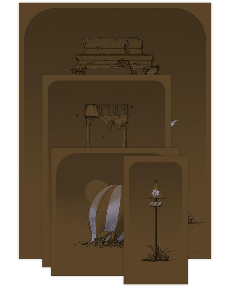 Image of PDLM-000K Variant Print Set