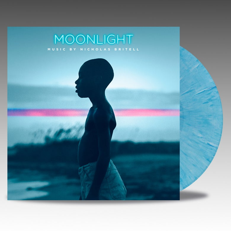 Image of Moonlight 'Ocean Blue Vinyl' - Nicholas Britell