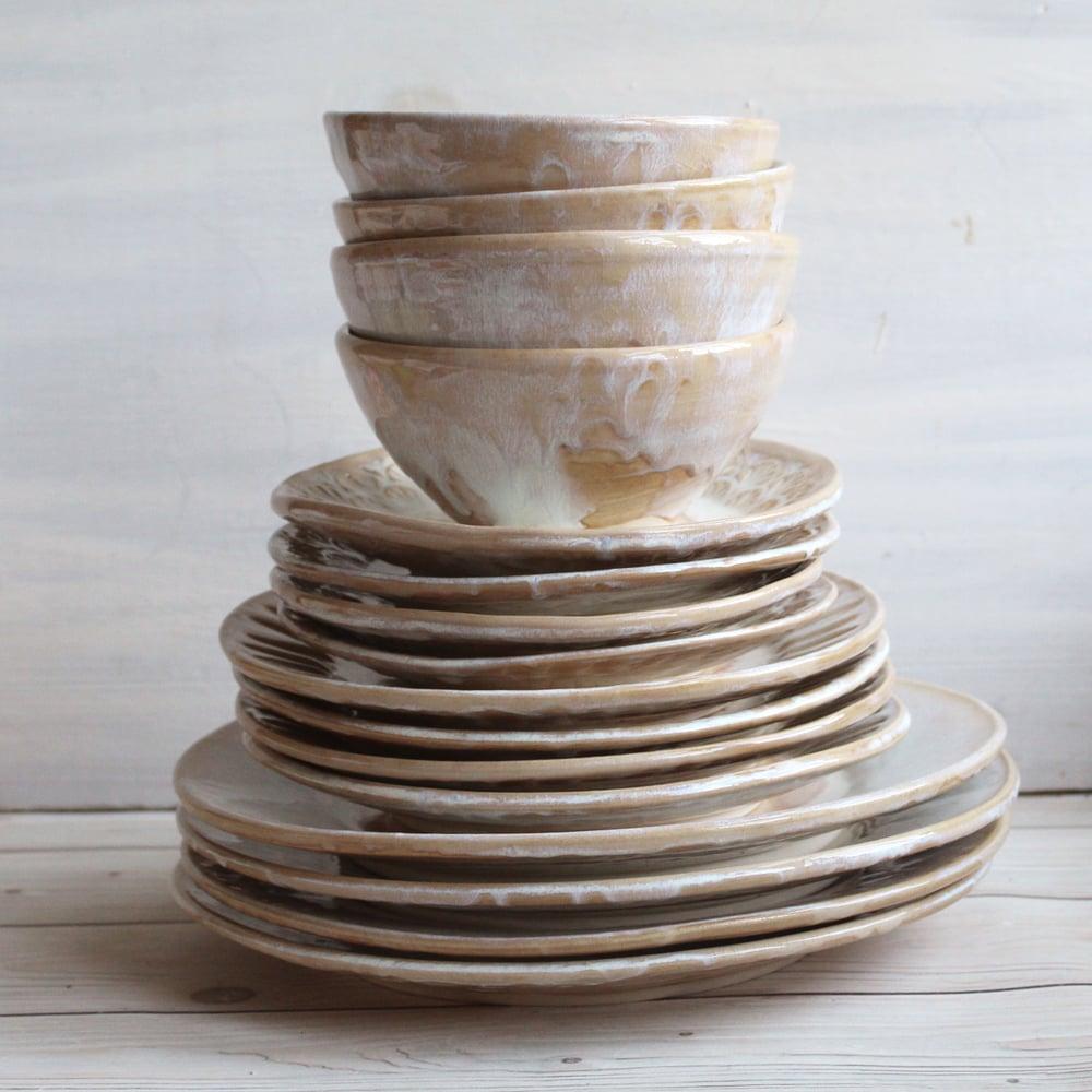 Andover Pottery — Handmade Dinnerware Set - Rustic Pottery