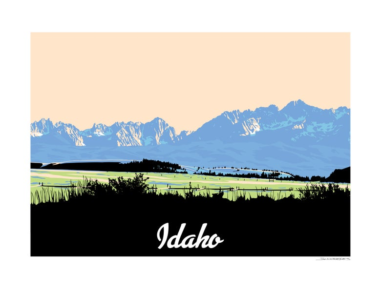 Image of IDAHO PRINT 2019