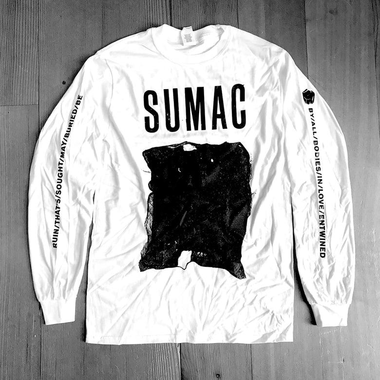 Image of SUMAC Flag Shirt White Long Sleeve T