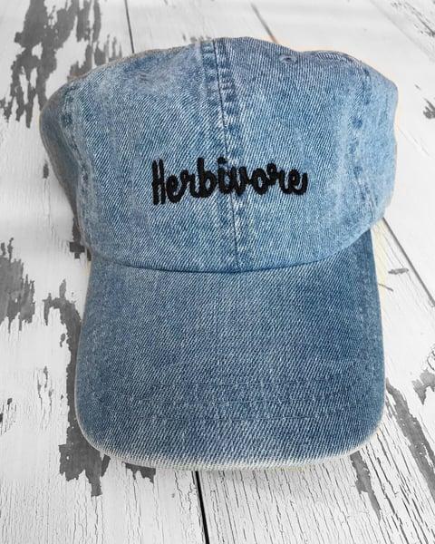 Image of Denim herbivore hat