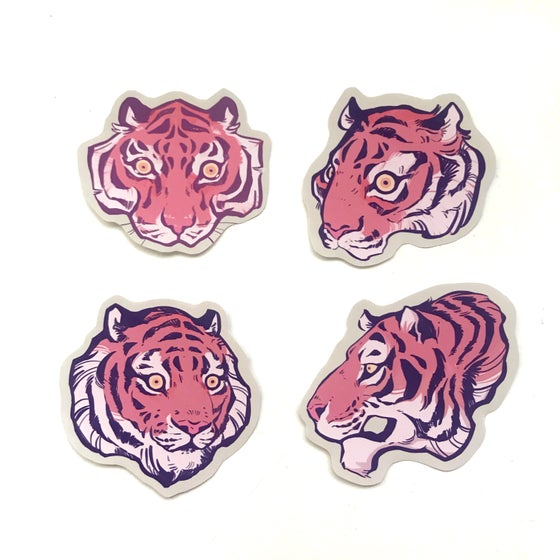 Image of Tiger Sticker Pack