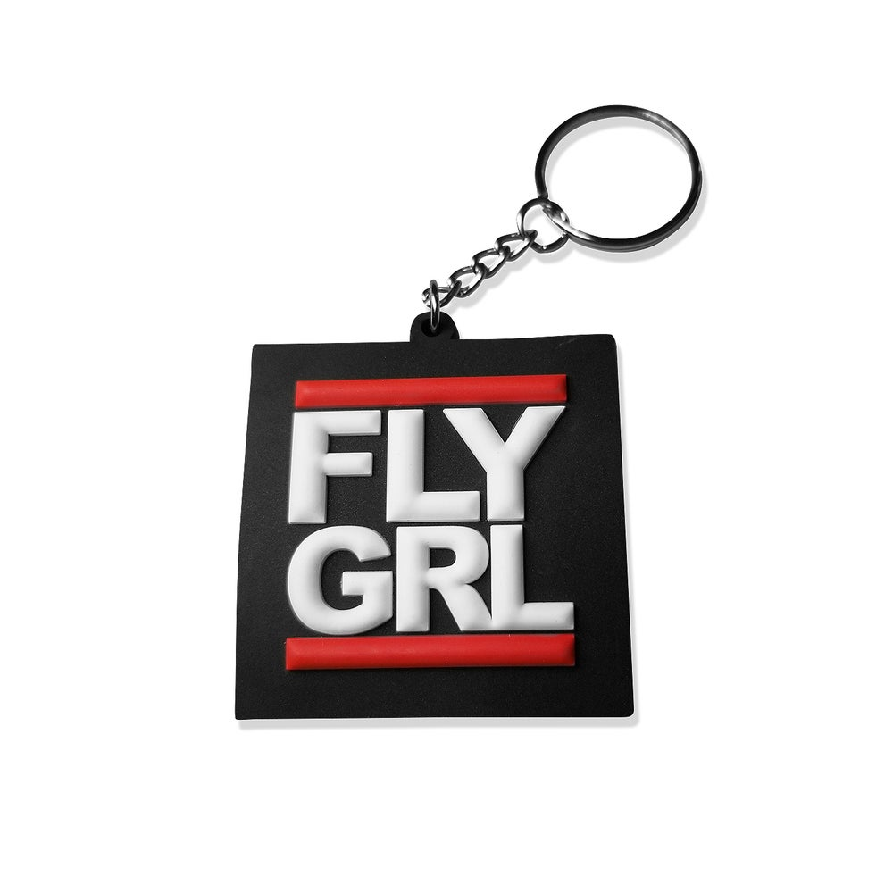 Image of FLY GRL 3D Keychain