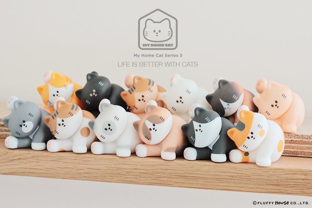 Image of My Home Cat Blind Box Series 3 (Whole Set)