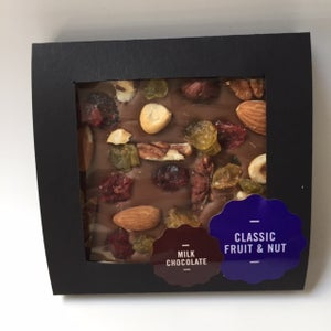 Image of Decorated Blocks - Classic Fruit and Nut - 2 chocolate options