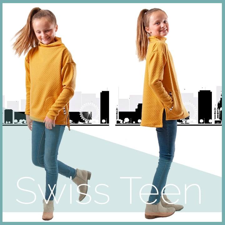 Image of Swiss Top (Tween/Teen)