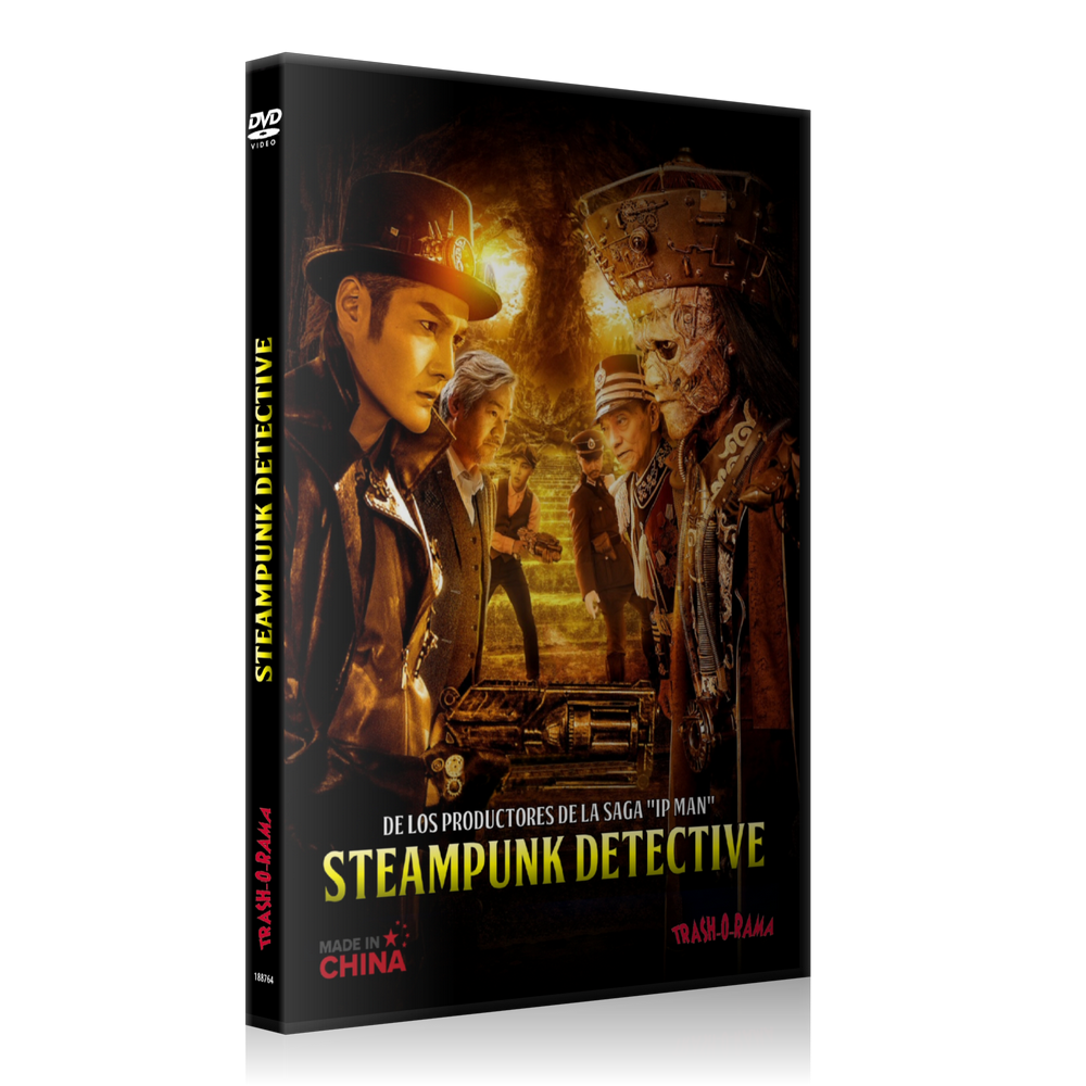 Image of STEAMPUNK DETECTIVE