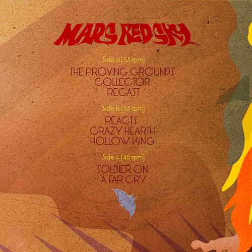 Image of MARS RED SKY VINYL GATEFOLD THE TASK ETERNAL