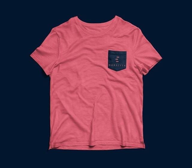Image of Camiseta Rosa Marsella - ¡Brilla enla oscuridad!
