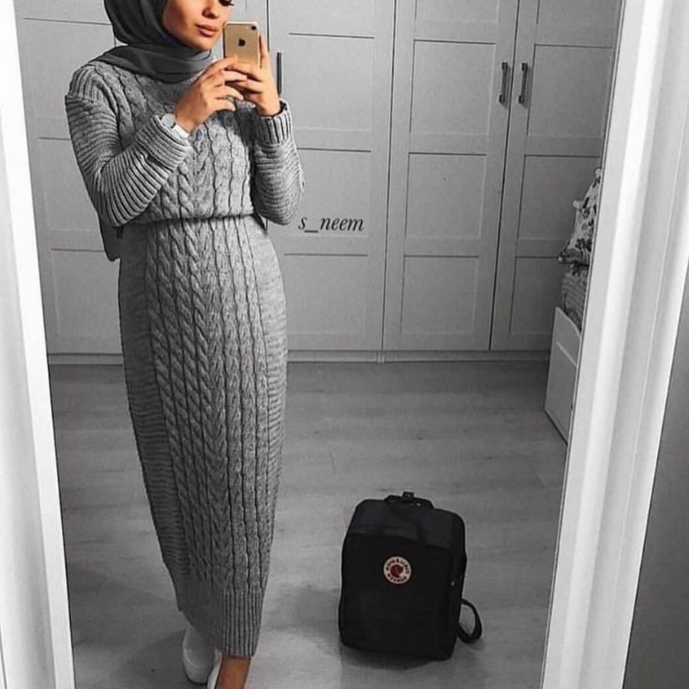 Image of Knitted Maxi (ALL colours)