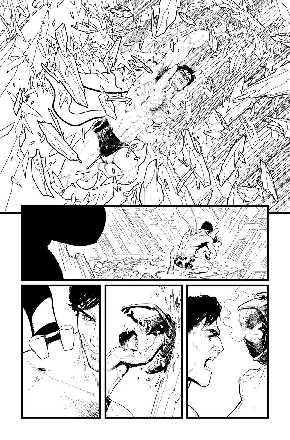 Image of BATMAN/SUPERMAN #2 p.13 ARTIST'S PROOF