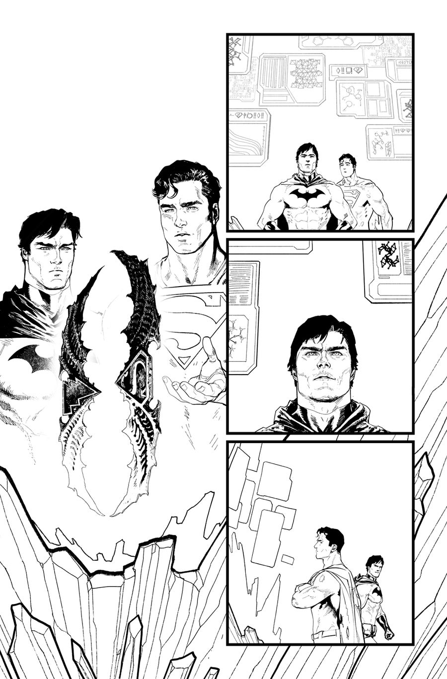Image of BATMAN/SUPERMAN #2 p.16 ARTIST'S PROOF