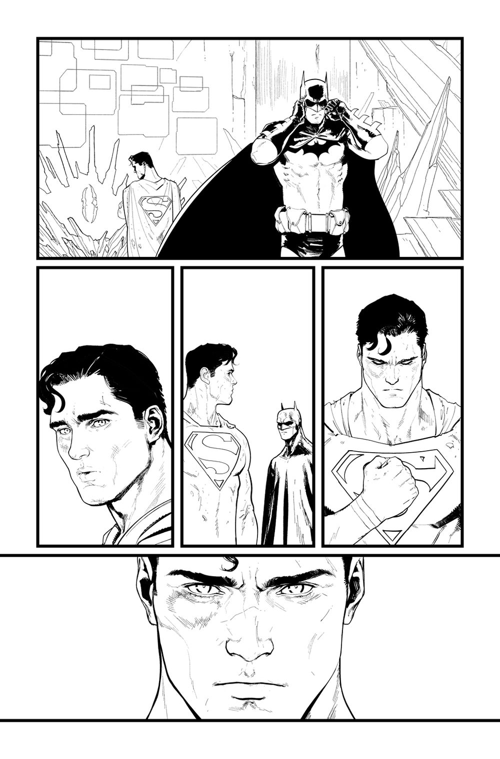 Image of BATMAN/SUPERMAN #2 p.17 ARTIST'S PROOF