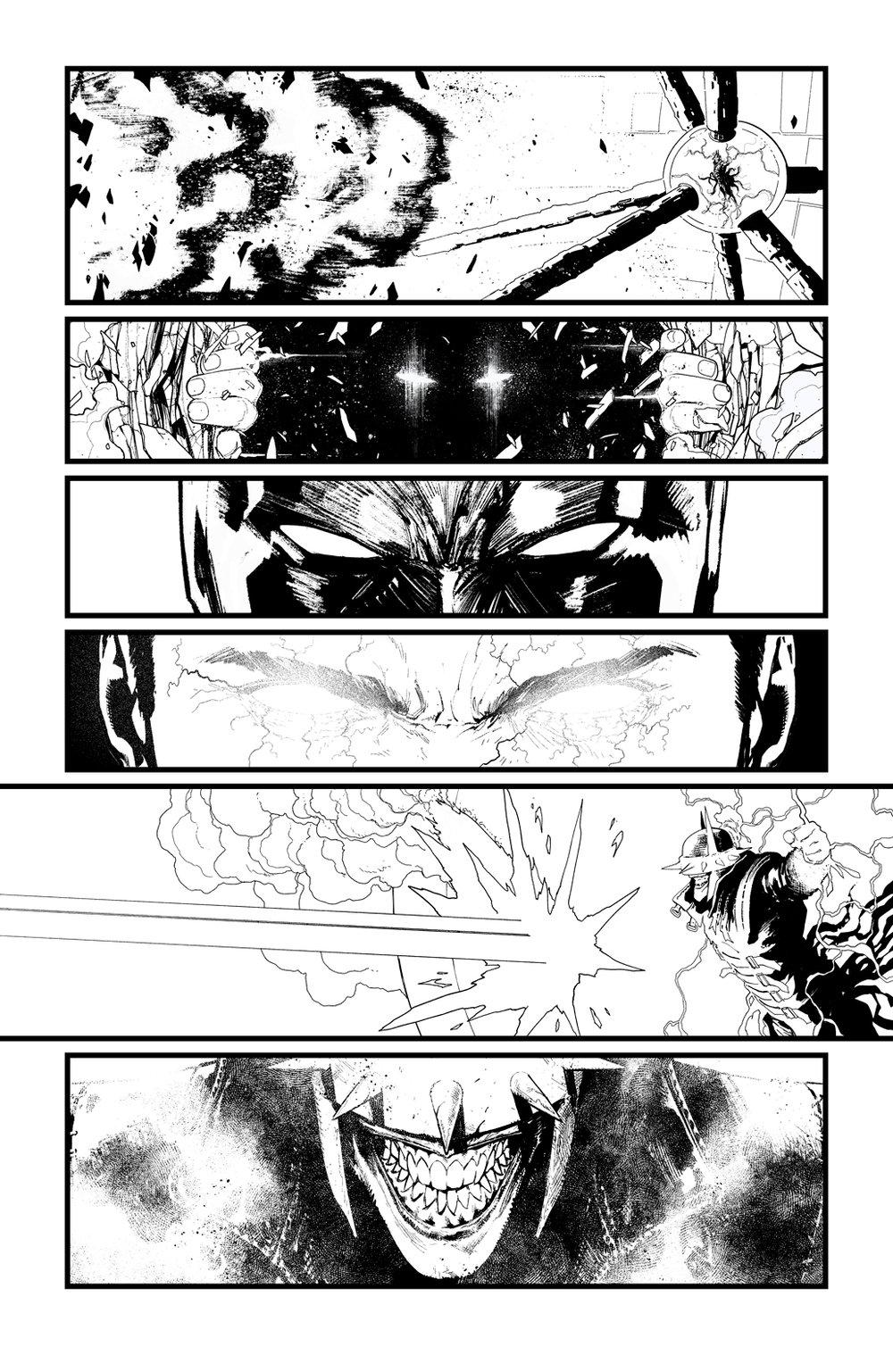 Image of BATMAN/SUPERMAN #2 p.21 ARTIST'S PROOF
