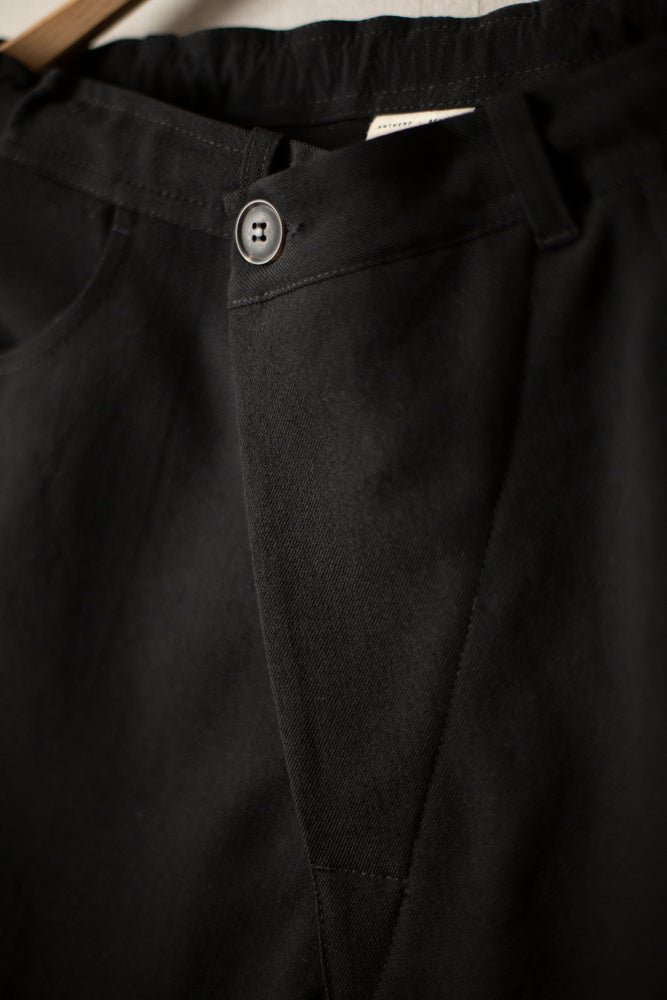 Image of TROUSERS#53 - BLACK WOOL SERGE by Jan-Jan Van Essche