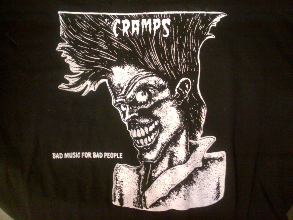 """The Cramps"" vintage tee"