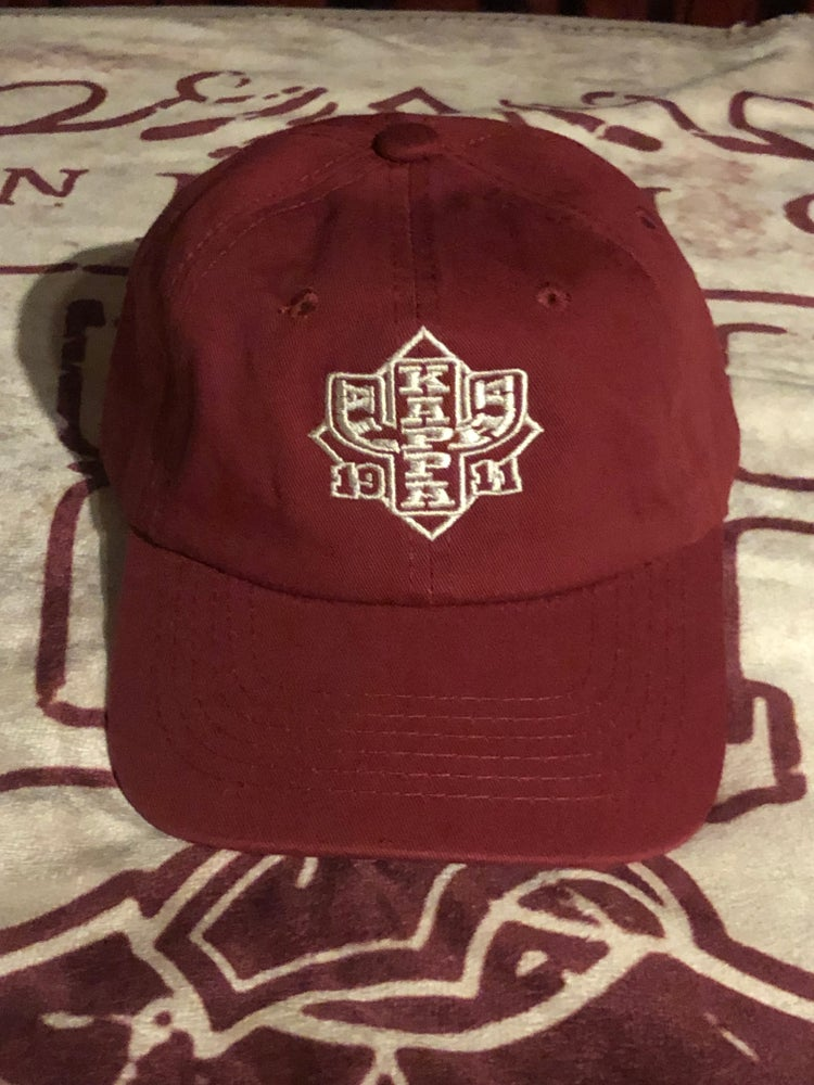 Image of CRIMSON IU DESIGN RELAXED FIT CAP
