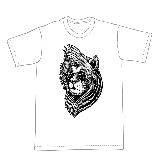 Everything the light touches Lion T-shirt  (A3) **FREE SHIPPING**