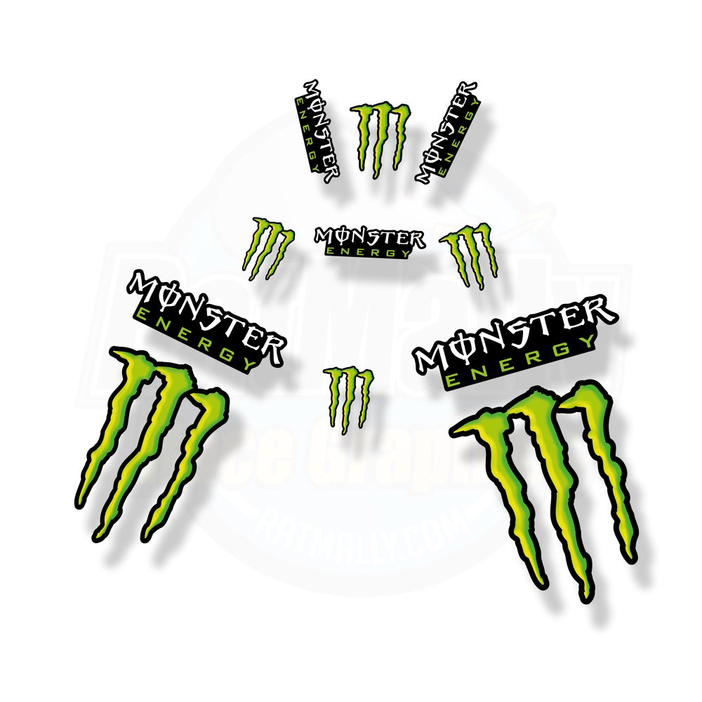Image of MotoGP Style Monster Graphics.