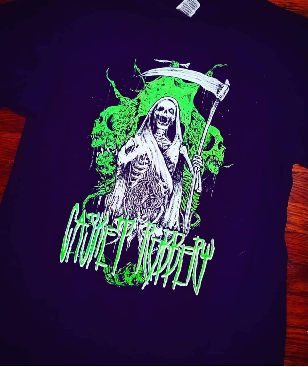 Image of Slime Green Reaper Tee