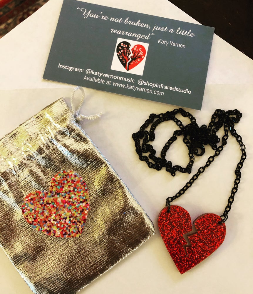 Image of Suit Of hearts jewelry collaboration