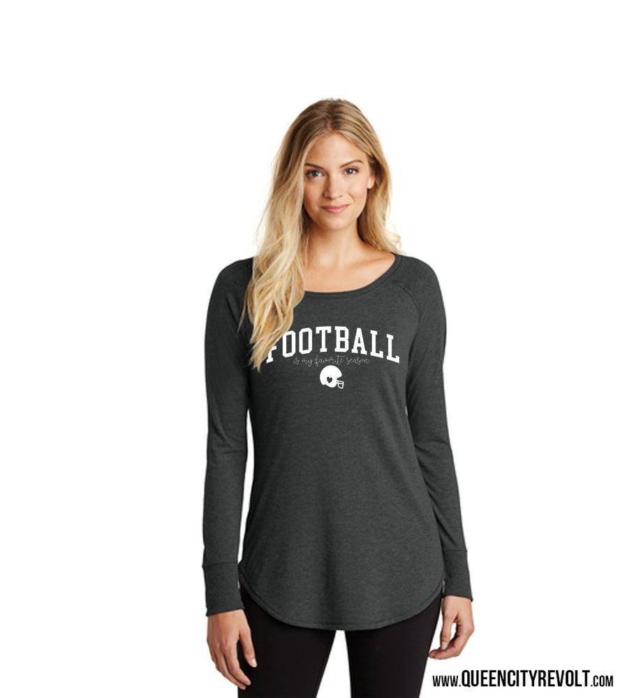 Image of Football is my Favorite Season, Women's Longsleeve