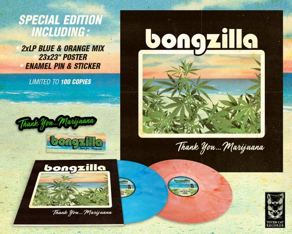 Image of BONGZILLA - Thank You Marijuana 2xLP / SPECIAL EDITION