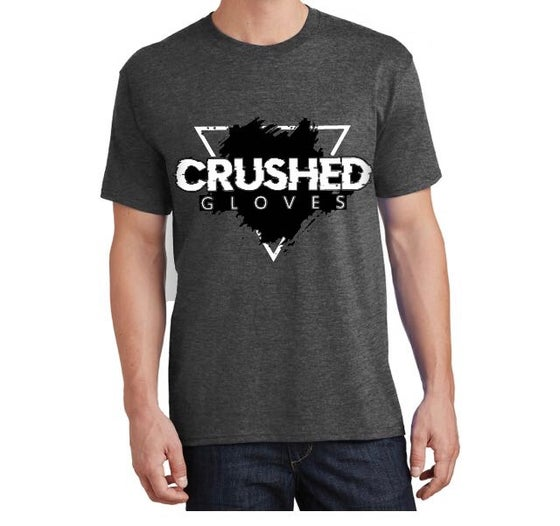 Image of  Heather Grey Crushed Gloves Tee Shirt