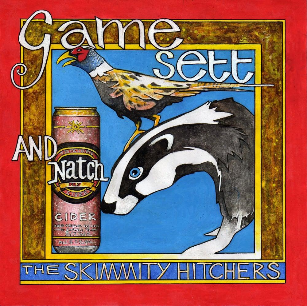 Image of Skimmity Hitchers 'Game, Sett & Natch' CD