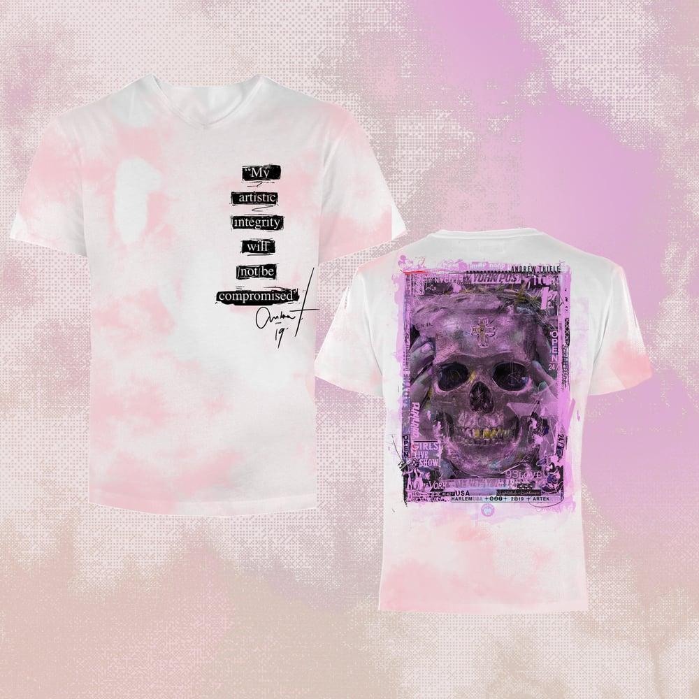 Image of Custom 1-of-1 T-Shirt   Skull
